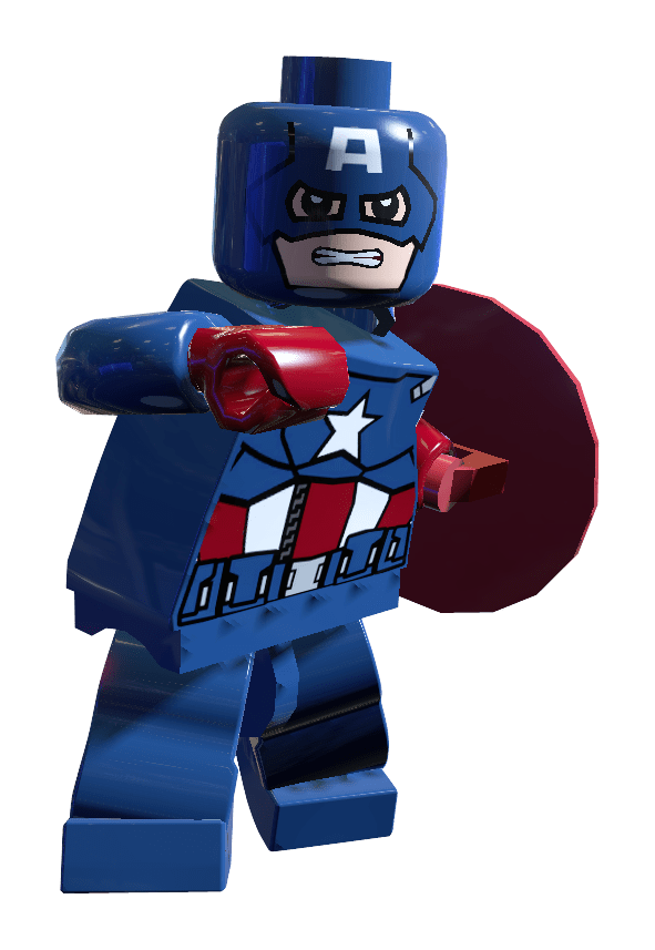 Captain America LEGO Set