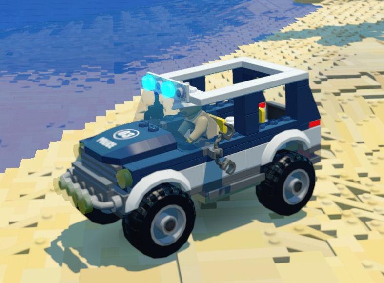 Swamp Police 4x4 Lego Worlds Wikia Fandom Powered By Wikia