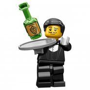 Waiter minifigures
