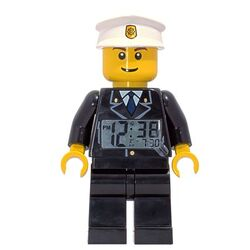 Police man clock