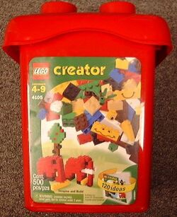 4105 Red Brick Bucket