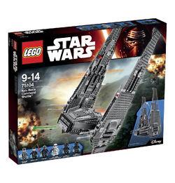 Lego Kylo Ren's Command Shuttle box1