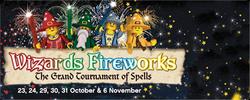 Wizards fireworks