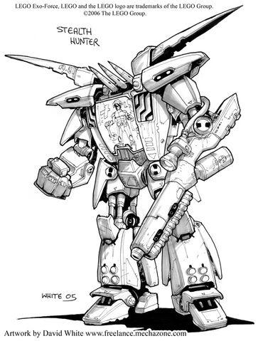 File:Comic Concept Art Stealth Hunter.jpg