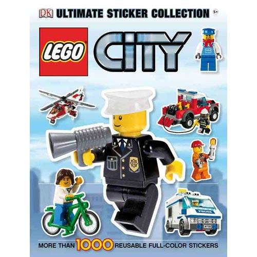 Lego City Books Lego City Ultimate Sticker