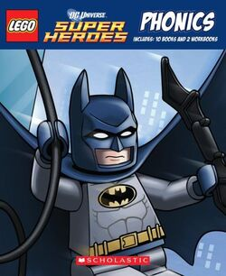 LEGO Super Heroes phonics