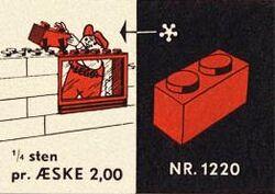 1220-1 x 2 Bricks