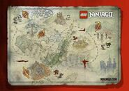 Ninjago Map
