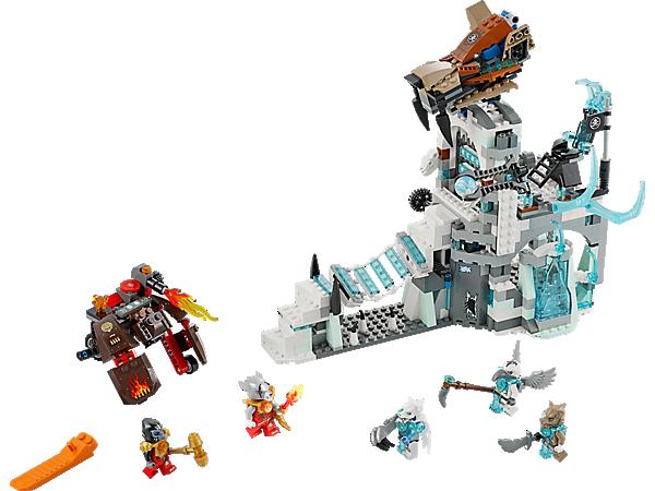 70147 la forteresse des glaces de sir fangar wiki lego - Chima saison 2 ...