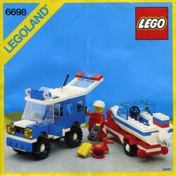 6698 RV with Speedboat