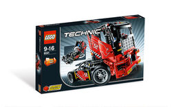 8041 Race Truck Box Art