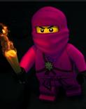 Zane the pink ninja