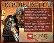 LEGO Bifur and Bofur Description
