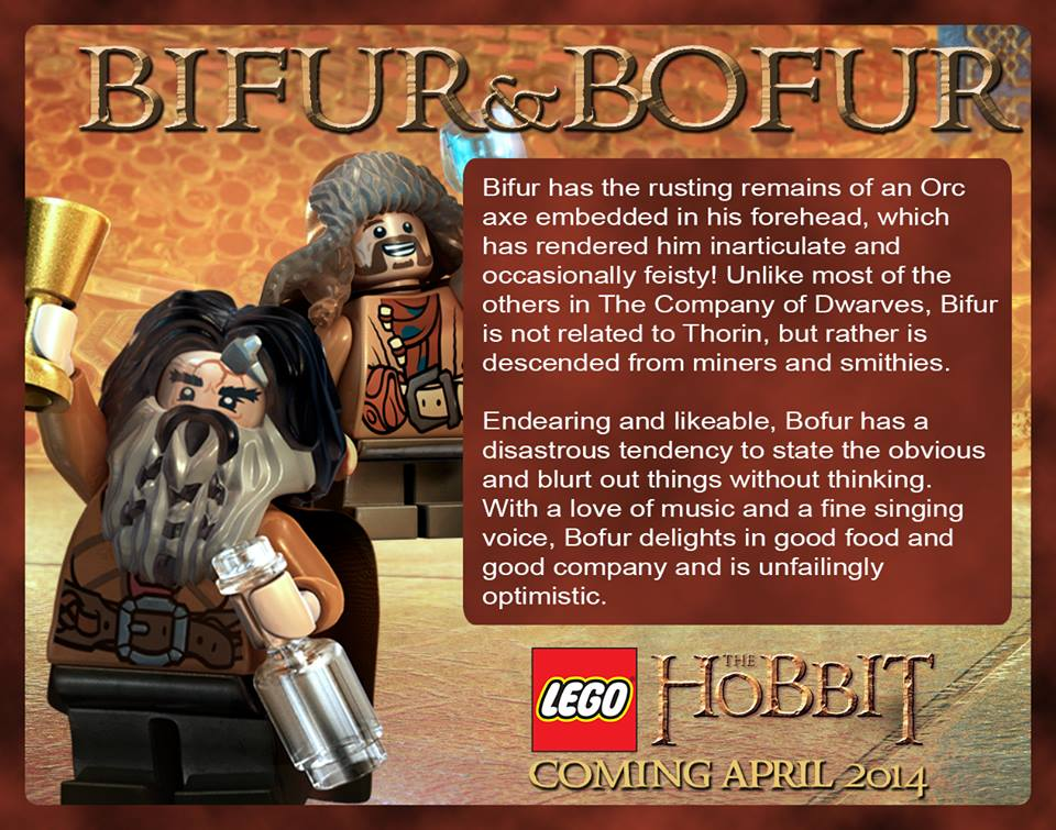 LEGO The Hobbit Minifigures are here!