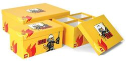 SD655yellow Storage Boxes Modular Fire Yellow