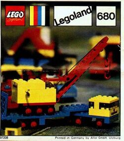 680-Low-Loader and Crane