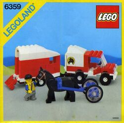 6359 Horse Trailer