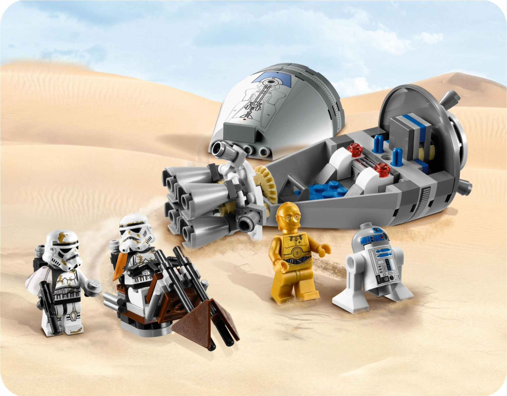 R2d2 And C3po Lego Gallery