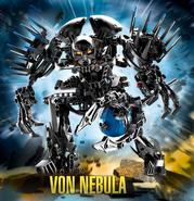 7145 Von Nebula with background