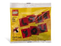 40016 Valentine Letter Set