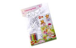 EL416-Princesses Colouring Pack