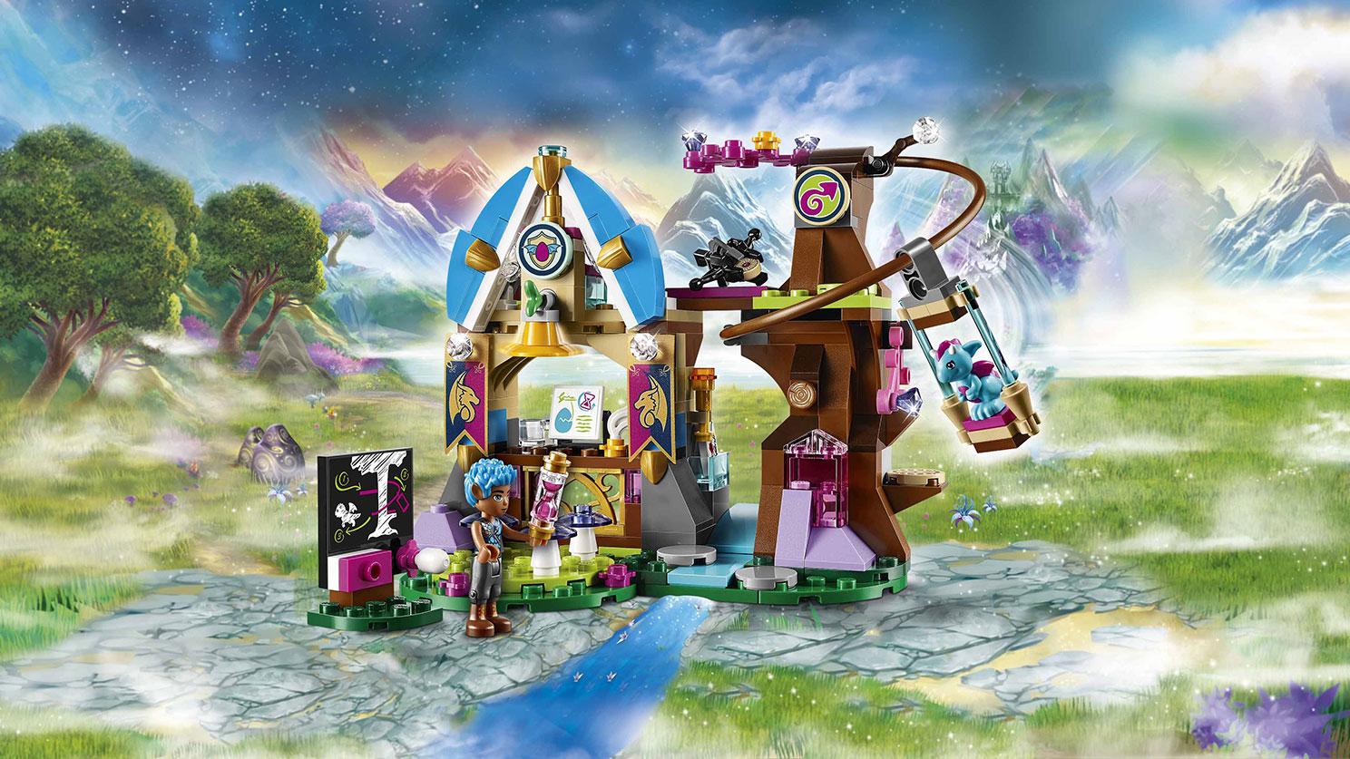 41173 l 39 cole des dragons d 39 elvendale wiki lego fandom powered by wikia - Ecole lego friends ...