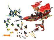 Lego Ninjago Final Flight of Destiny's Bounty 3