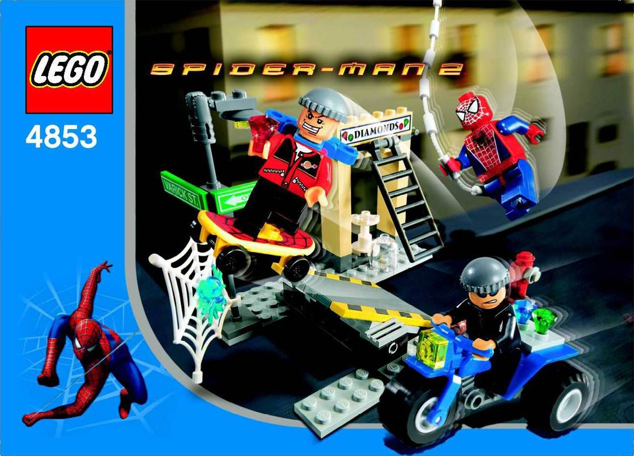 4853 spider man 39 s street chase brickipedia fandom powered by wikia - Lego spiderman 2 ...