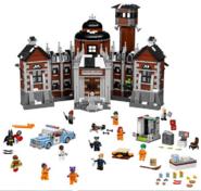 Lego Batman Movie Arkham Assylum Set Screenshot