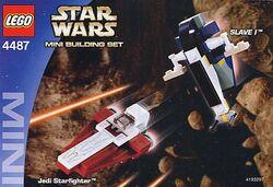 Mini jedi starfighter and slave 1