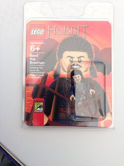 Lego comic con bard with package