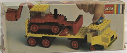 376-Low-Loader with Excavator box
