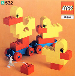 532-Pull-Along Ducks