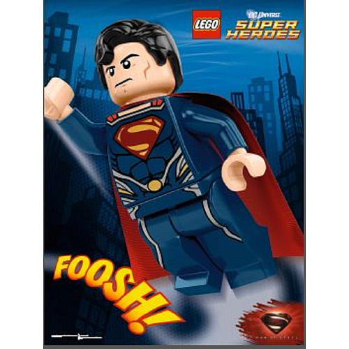 Lego Man Of Steel Another LEGO Fied