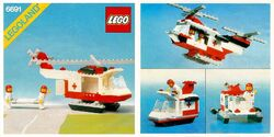 6691 Red Cross Helicopter