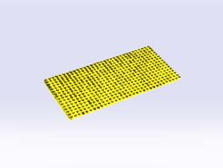 5009-Building Plate 16 x 32, Yellow