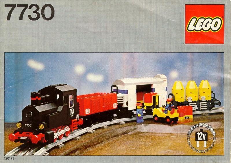 Vintage Lego Battery Car