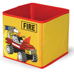 SD336yellow Textile Toy Bin Fire Yellow