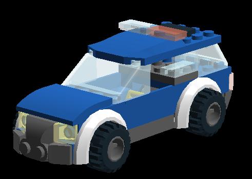 Custom:Police Car (The Asembles) | Brickipedia | Fandom ...