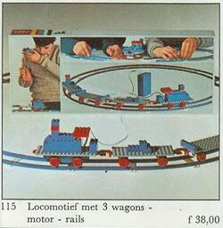 115-Starter Train Set with Motor