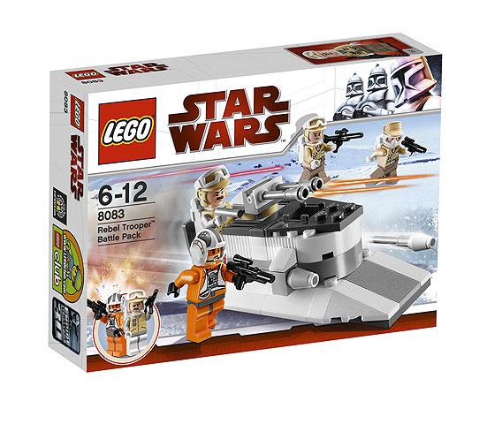 Lego Star Wars Building Instructions Rebel Trooper Battle Pack 8083