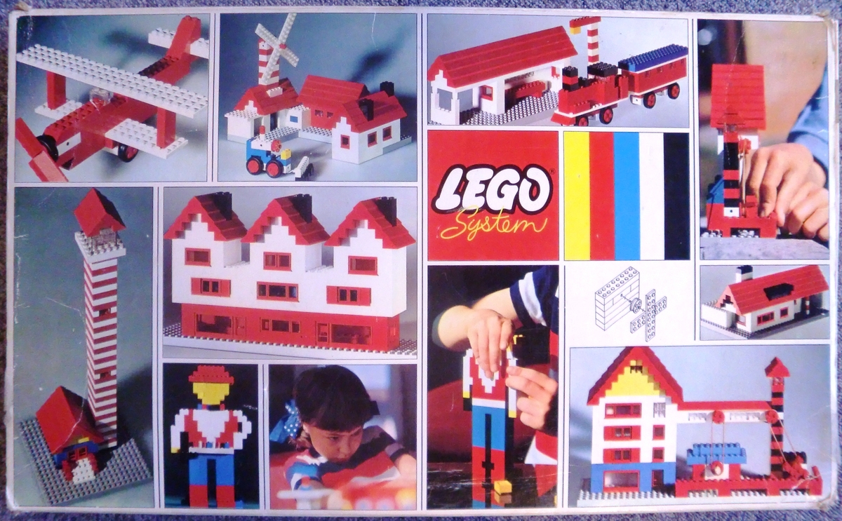 Lego Basic Instructions, Childrens toys