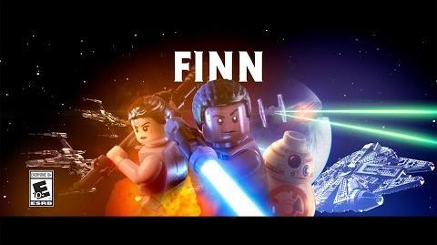 Finn Character Spotlight LEGO Star Wars The Force Awakens