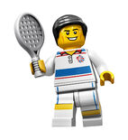 Tactical tennis player