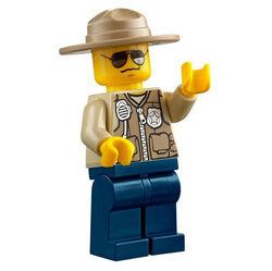 Male Police Officer 2 (Swamp)