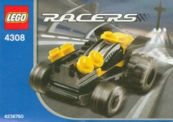 4308 Yellow Racer