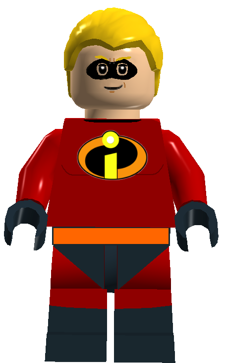 how to draw the baxk of mr incredible