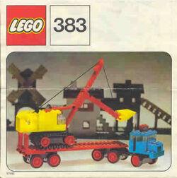 383-Truck with Excavator
