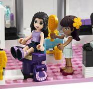 3187 le salon de beaut wiki lego fandom powered by wikia - Lego friends salon de coiffure ...