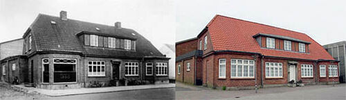 House and workshop, 1935 and 2005